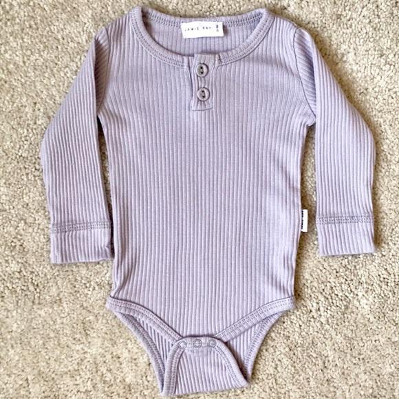 e5c39fe6c2dc1 Jamie Kay One Pieces | Ribbed Bodysuit In Iris | Poshmark